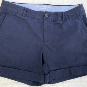 Banana Republic | City Chino Shorts | Navy